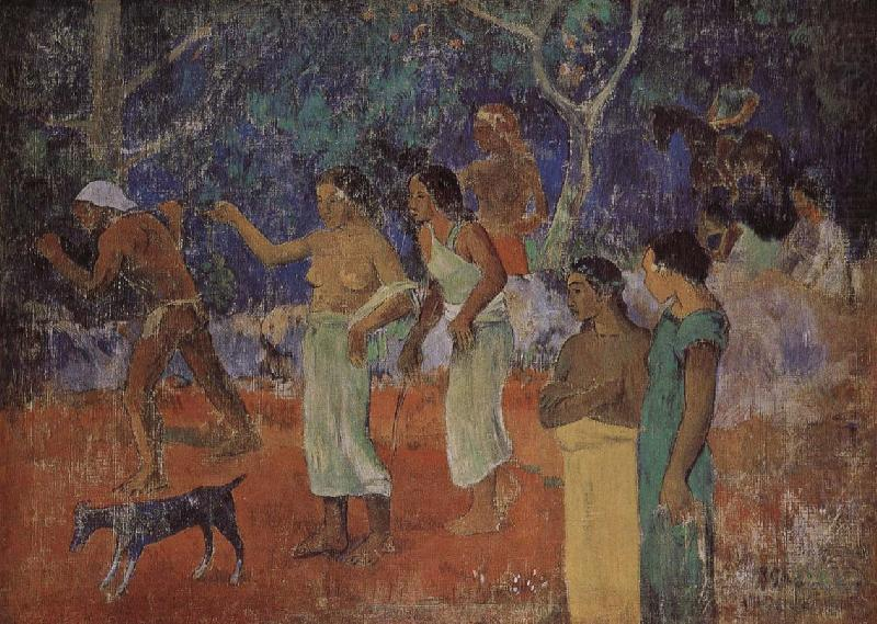 Tahiti, Paul Gauguin